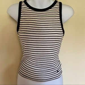 AMERICAN EAGLE ESSENTIALS STRIPED TANK TOP